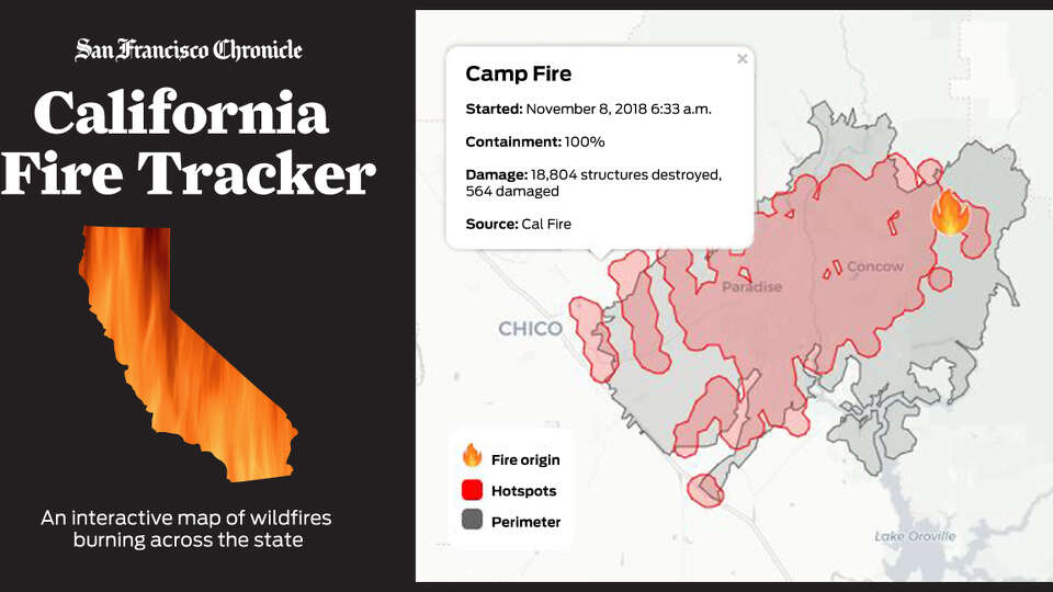 California Fire Tracker: The latest on wildfires across the state