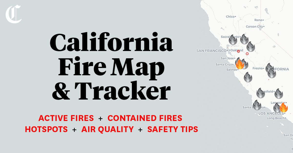 2020 California Fire Map California Fire Map: Tracking wildfires near me, across SF Bay