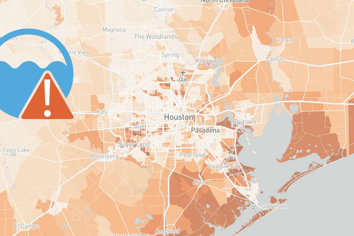 Texas Flood Map & Tracker