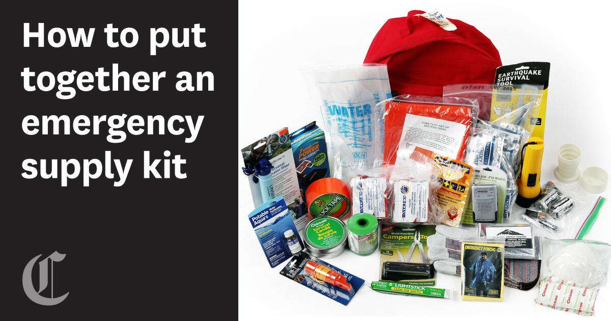 What to put in your emergency supply kit