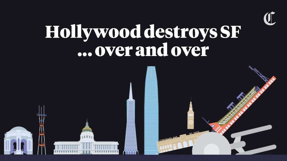 San Francisco gets destroyed: Mapping Hollywood's wrath, from 'Godzilla' to 'San Andreas'