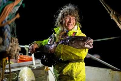Joleen shows off a big catch
