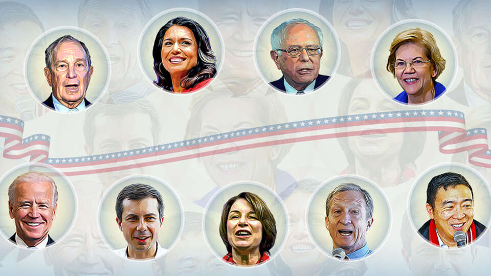 See which of the Democratic candidates best line up with your views