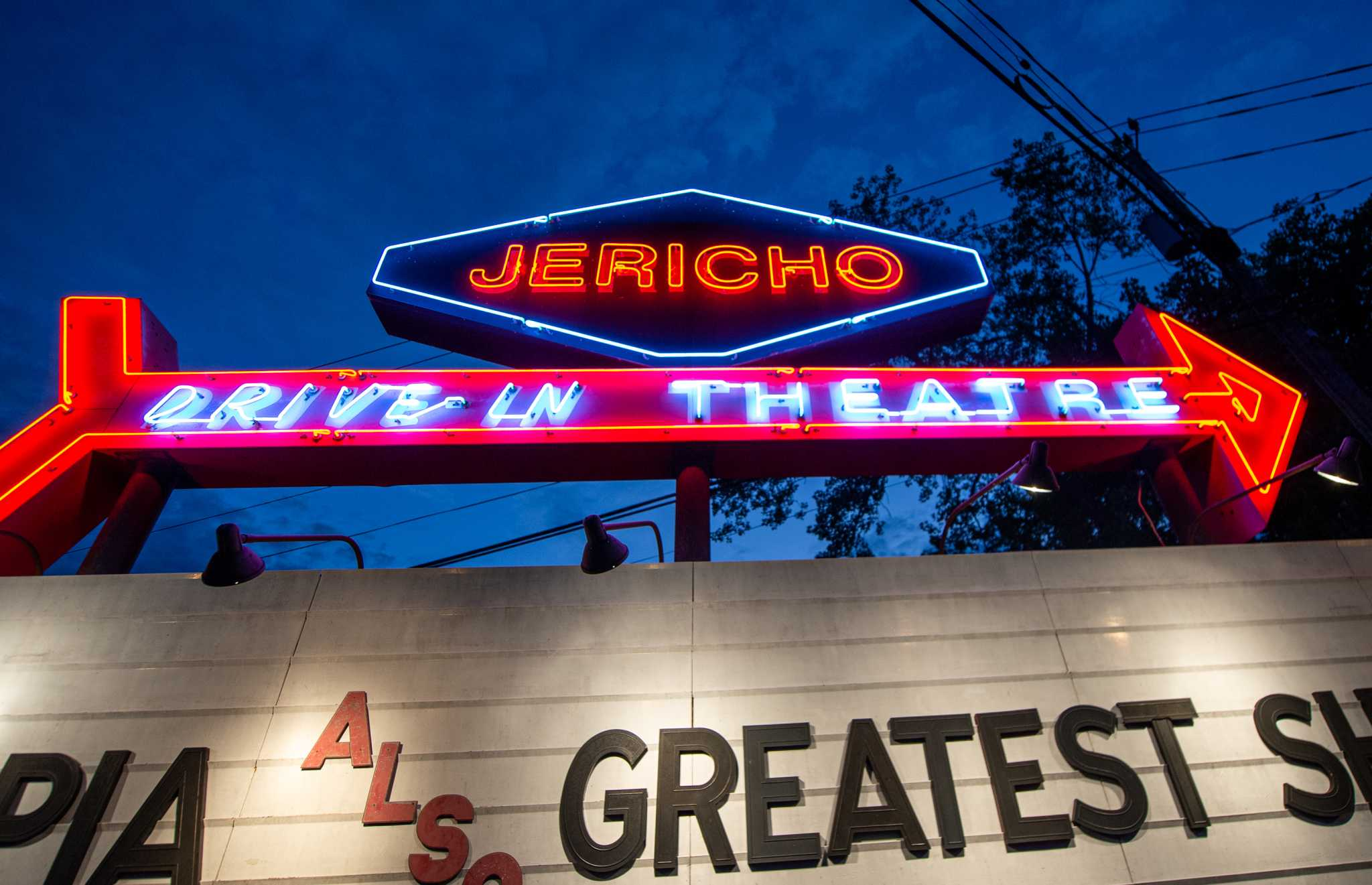 Drive-in movie theaters in the Capital Region