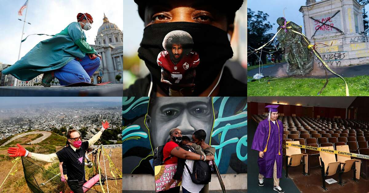 Visual Essay: The Chronicle's best Bay Area photos of June 2020