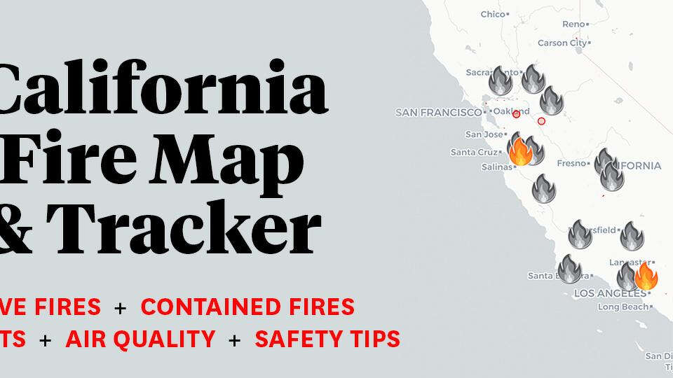 California Wildfire Tracker