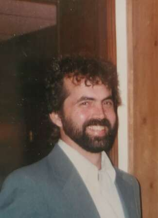 A photograph of a Bruce Cormican, Keith Cormican's brother.