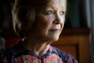 A portrait of Melissa Honrath, sister of Doodler victim Jae Stevens