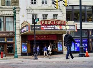 Proctor's Theatre facade