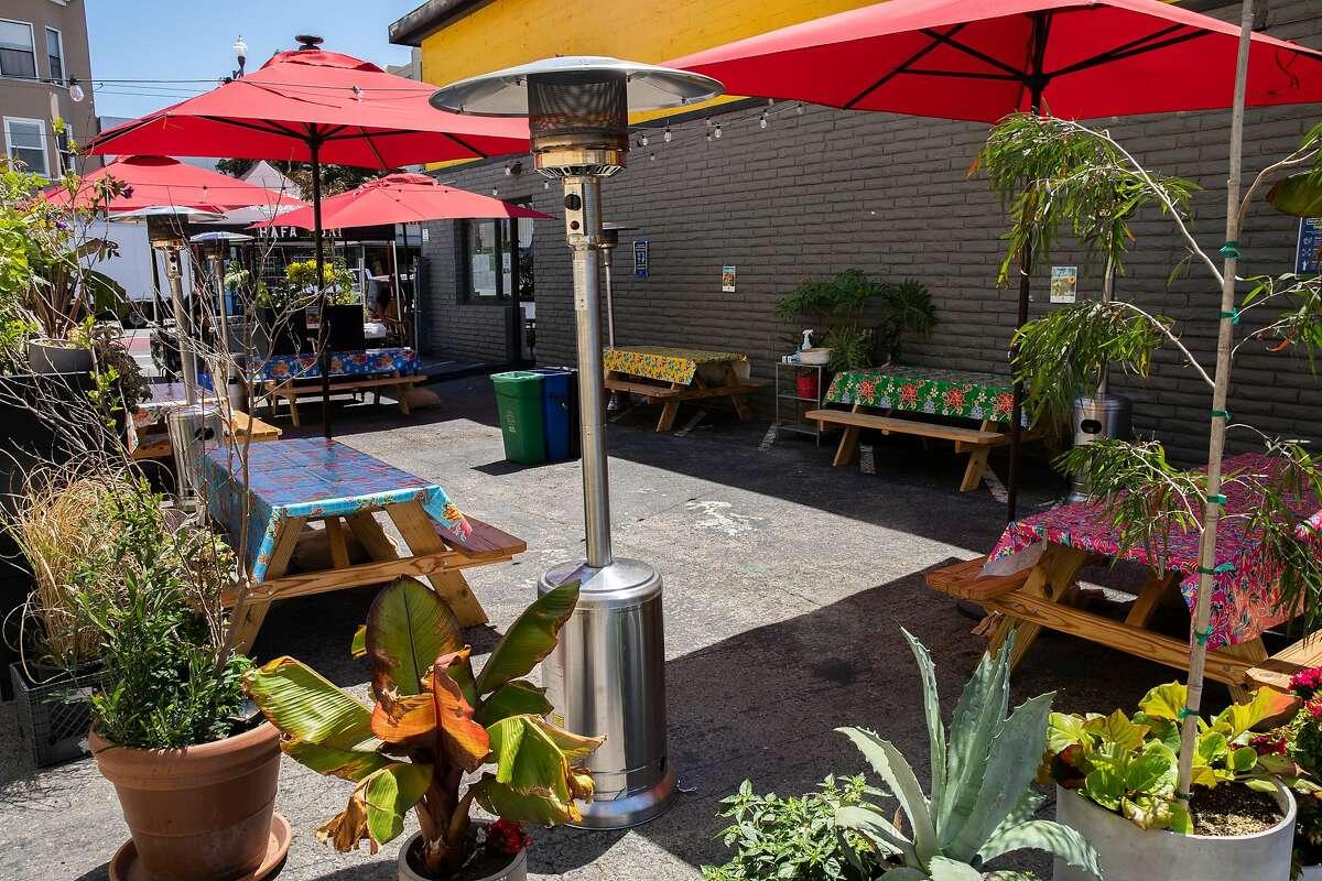 Top Outdoor Restaurants in the Bay Area