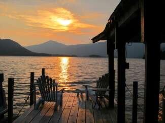 Sunset in Adirondacks