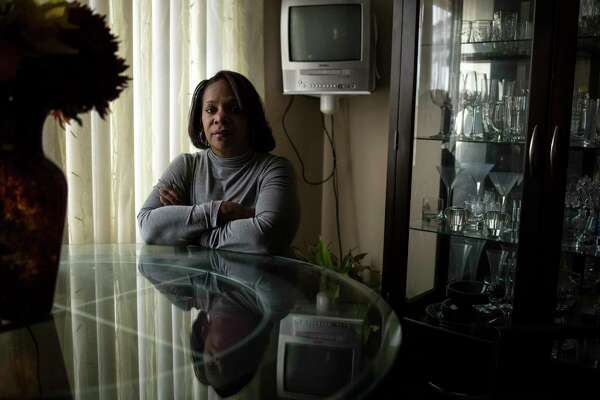 Cheryl Monroe, 57, a federal employee on furlough, at her home in Ecorse, Mich., on Tuesday.
