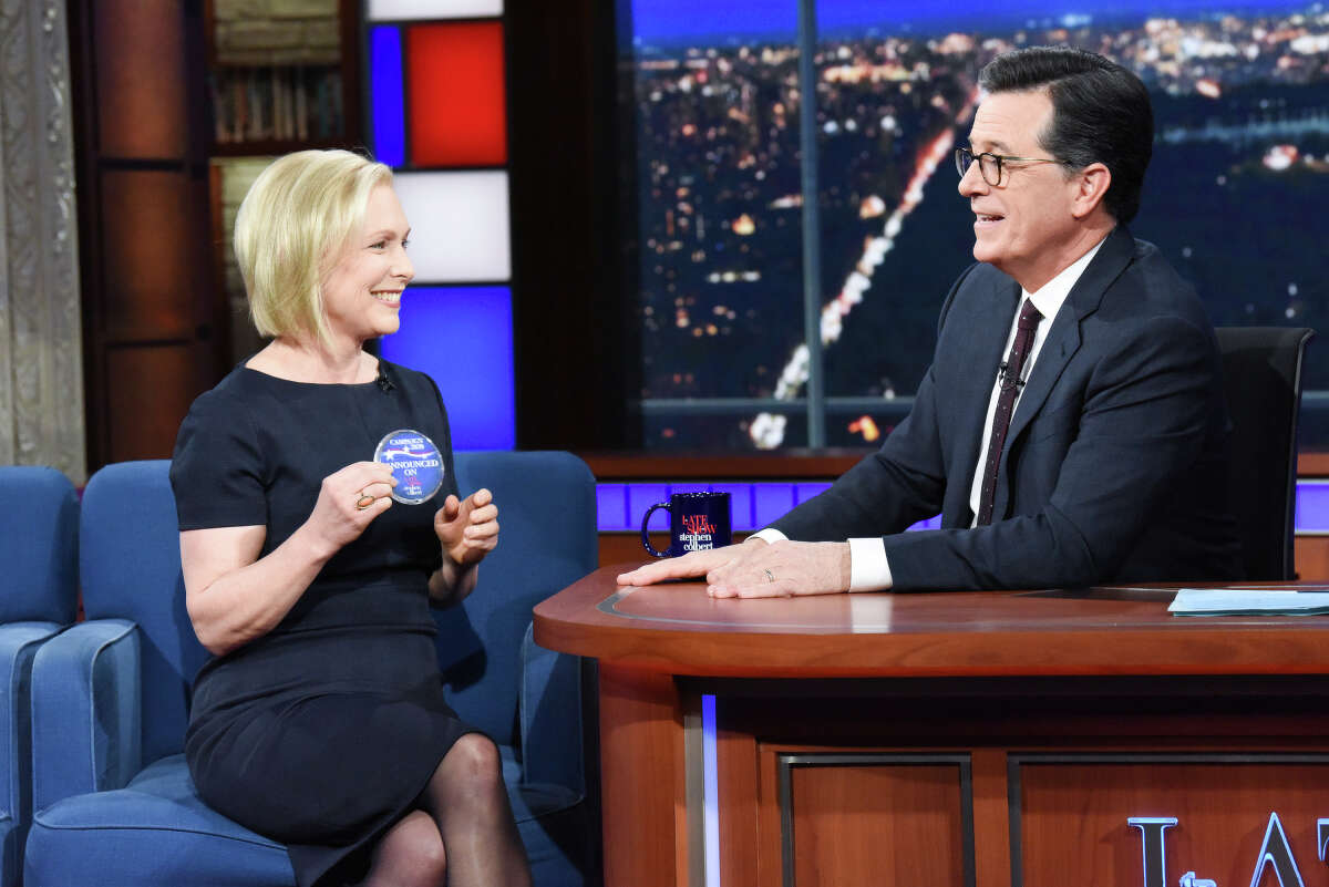 U.S. Sen. Kirsten Gillibrand announced her plans to run for president in 2020 on