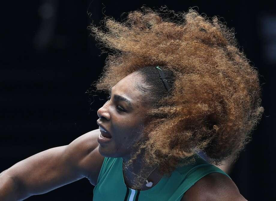 Serena Williams, who won Tuesday, last was at the Australian Open in 2017, when she won a Grand Slam while pregnant. Photo: Kin Cheung / Associated Press