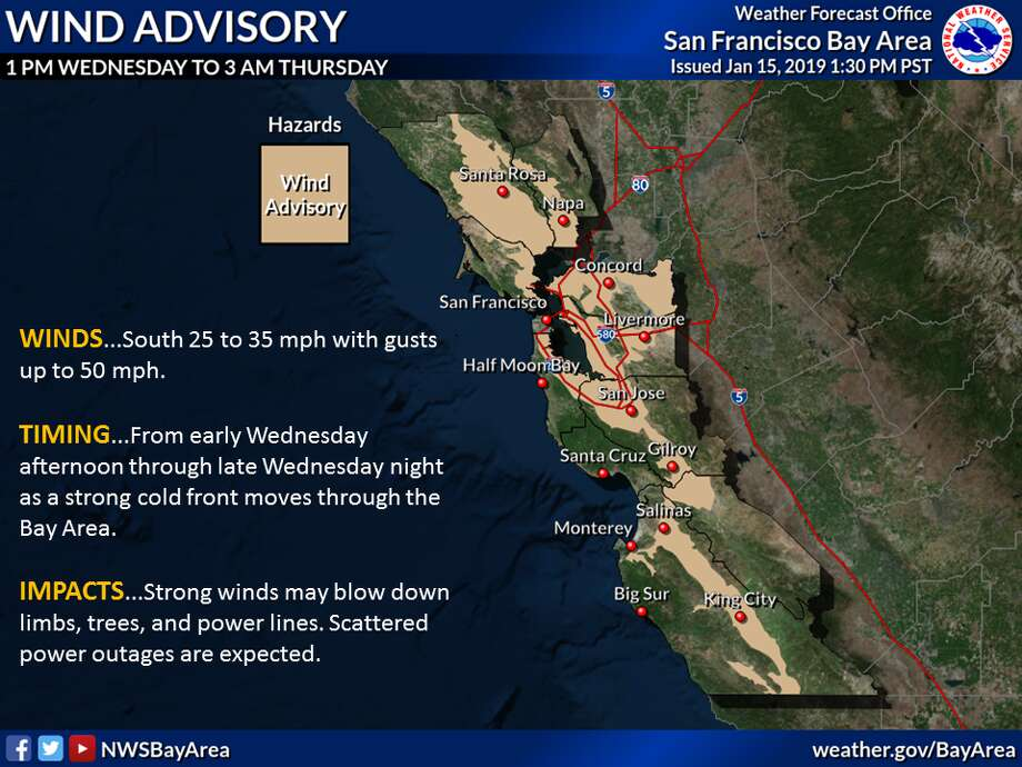 Biggest storm of 2019 to hit Bay Area, Sierra due to atmospheric river