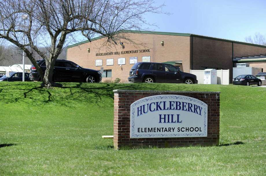 Huckleberry Hill Elementary School is one of the buildings in most dire need of an upgrade. The school is not energy efficient, has poor toilets and lacks a sprinkler system. The building's aging portables were recently demolished. Monday, April 23, 2018. Photo: Carol Kaliff / Hearst Connecticut Media / The News-Times