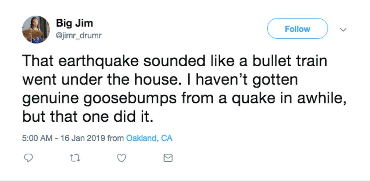 Twitter reacts to the earthquake that shook the East Bay around 4:45 a.m. Wednesday.