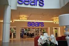 A file photo of the Sears store at Danbury Fair mall in Danbury, Conn.