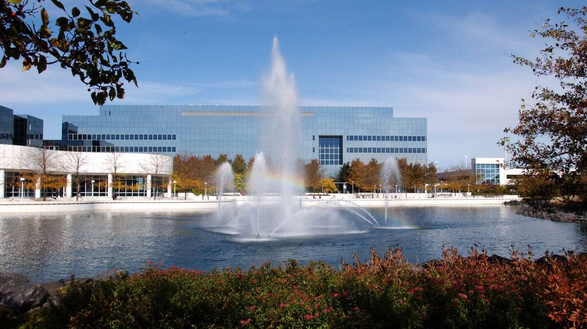 A file photo of the headquarters of Sears Holdings in Hoffman Estates, Ill.