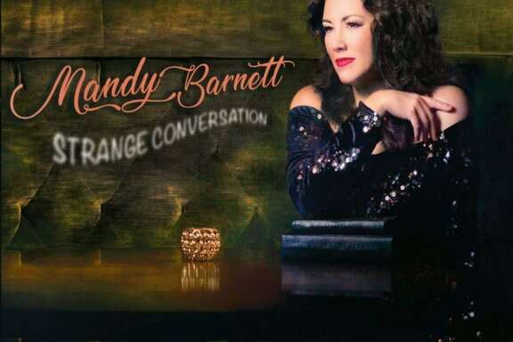 """Strange Conversation"" is the 2018 release from singer-songwriter Mandy Barnett"