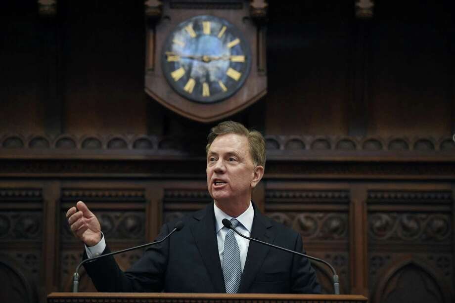 Connecticut Gov. Ned Lamont delivers his State of the State address at the State Capitol in Hartford last month. Photo: Jessica Hill / Associated Press / Copyright 2019 The Associated Press. All rights reserved