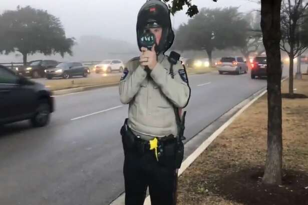 Officials with the Williamson County Sheriff's Office are getting creative trying to reduce speeding in local neighborhoods. The department posted a life-size, cardboard cut out sign of a deputy holding a radar gun that looks like the real thing in hopes to reduce reckless driving in school zones.