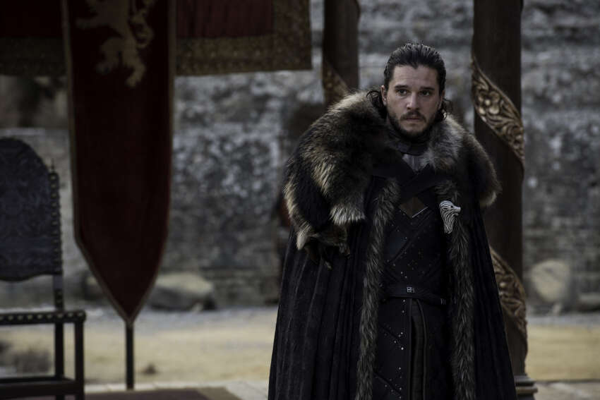 Game of Thrones: Last We Left Them ... Jon Snow: Jon Snow accompanies Daenerys to King's Landing to try to convince Cersei of the threat of the White Walkers. However, he refuses to stay neutral in the conflict between Daenerys and Cersei for control of the Iron Throne, having pledged his loyalty to Daenerys. As a result, Cersei refuses to join their fight.