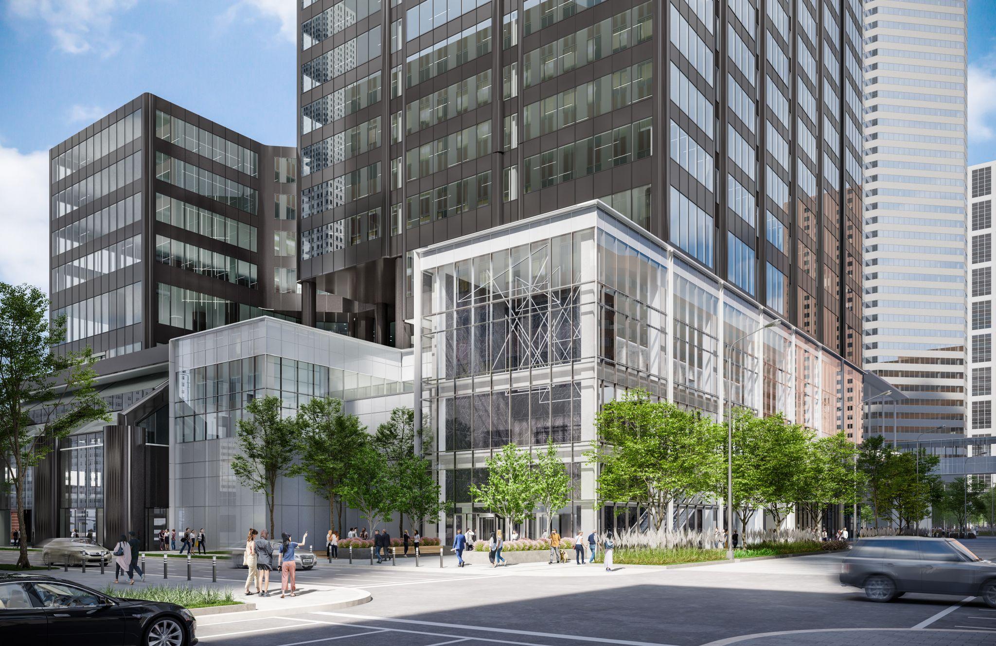 Downtown's Houston Center prepares for makeover