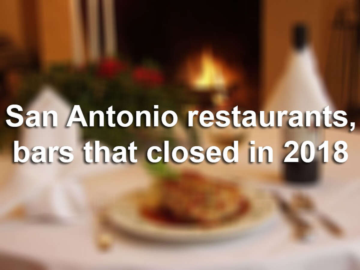 From an iconic Tex-Mex institution in Southtown to a popular St. Mary's Strip club, several Alamo City staples closed their doors last year. Click through the gallery above for a look at San Antonio restaurants and bars we said goodbye to in 2018.