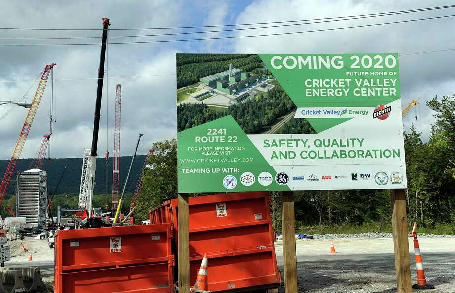 Cricket Valley Energy Center is under construction in Dover, prompting concerns and outrage from Connecticut residents just over the state line. Photo Wednesday, Sept. 26, 2018. Photo: Carol Kaliff / Hearst Connecticut Media / The News-Times