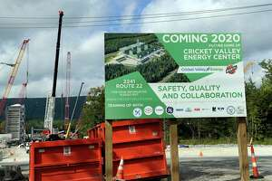 Cricket Valley Energy Center is under construction in Dover, prompting concerns and outrage from Connecticut residents just over the state line. Photo Wednesday, Sept. 26, 2018.