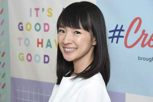 """Marie Kondo, the high-priestess of clutter-free living, stars in the new Netflix show """"Tidying Up,"""" based on her best-selling book of a similar name."""