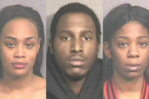 Mikia Collins, 19, Kevin Winston, 25, and Martina Chambers, 20, were all charged after a Houston Police Department human trafficking sting on Tuesday, Jan. 15, 2019.