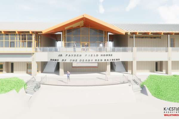 The proposed J.R. Payden Field House is expected to open as scheduled June 15 at the Leo Ryan Sports Complex in Derby