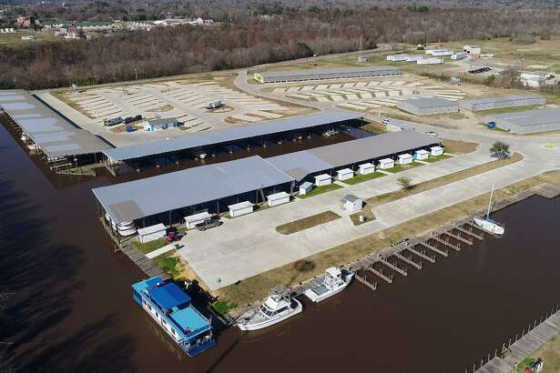 After more than a year of being closed for Tropical Storm Harvey repairs, Beaumont RV Marina, the former Beaumont Yacht Club, opened its doors in December. The newly restored business now rents RV spots along with boat slips. Photo taken Thursday, 1/10/19