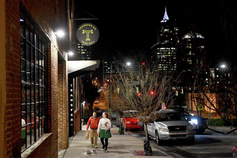 Transfer Co. Food Hall is in the oft-overlooked east side of downtown Raleigh, North Carolina, photographed on Jan. 3, 2019. Photo: Washington Post Photo By Katherine Frey. / The Washington Post