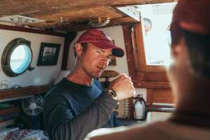 Jerome Rand, who sailed around the world by himself, without stopping, will share his fascinating story at the Maritime Aquarium at Norwalk on Jan. 24.
