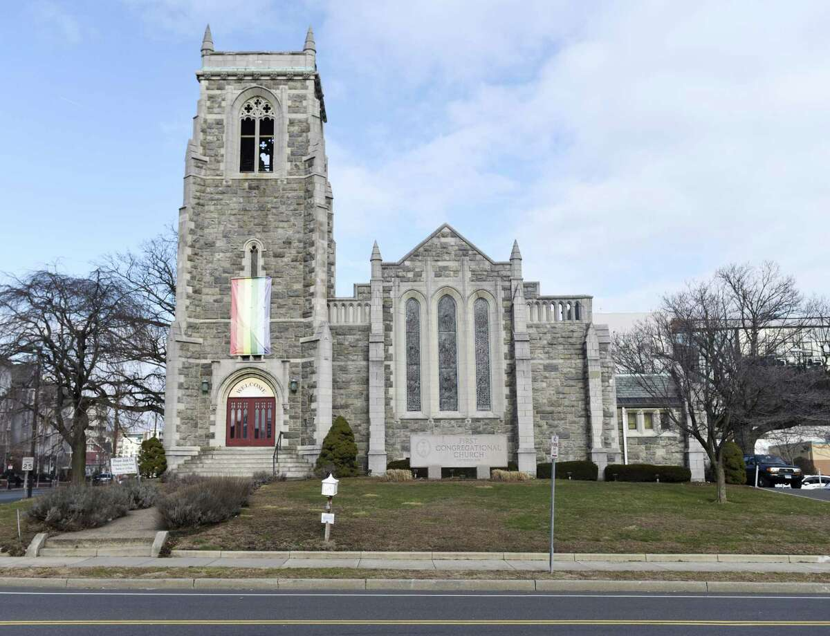 First Congregational Church in Stamford was recently sold to a developer, who is planning on keeping the main church intact and constructing a new residential building around it.
