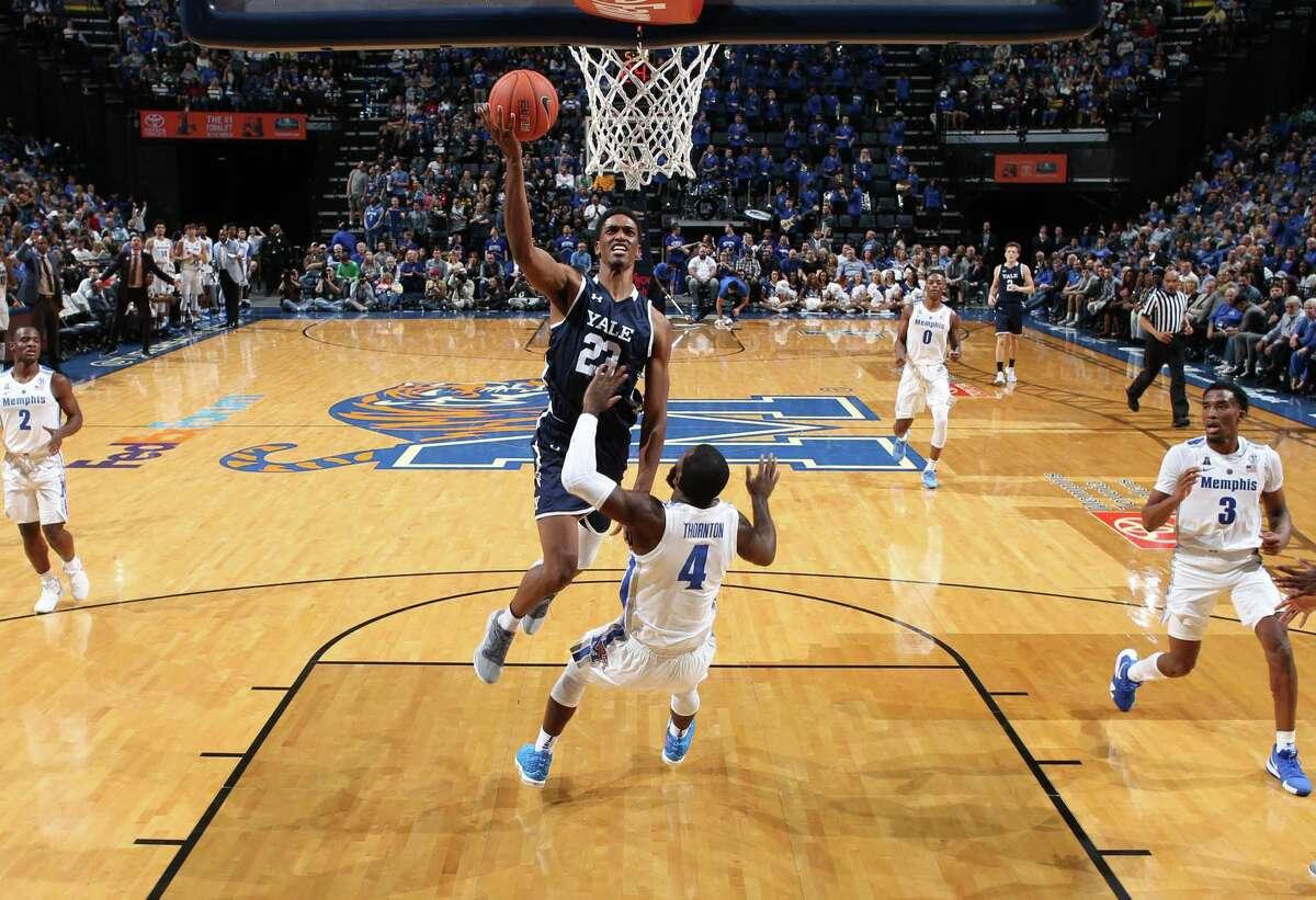 Yale junior Jordan Bruner