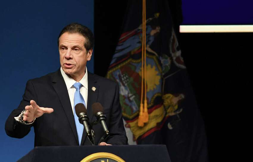 How much power does Gov. Andrew Cuomo need? That's the question raised by state lawmakers frustrated with the governor's recent penchant for holding up legislation creating task forces, panels, commissions and panels unless he can exert more control over their composition. (Will Waldron/Times Union)
