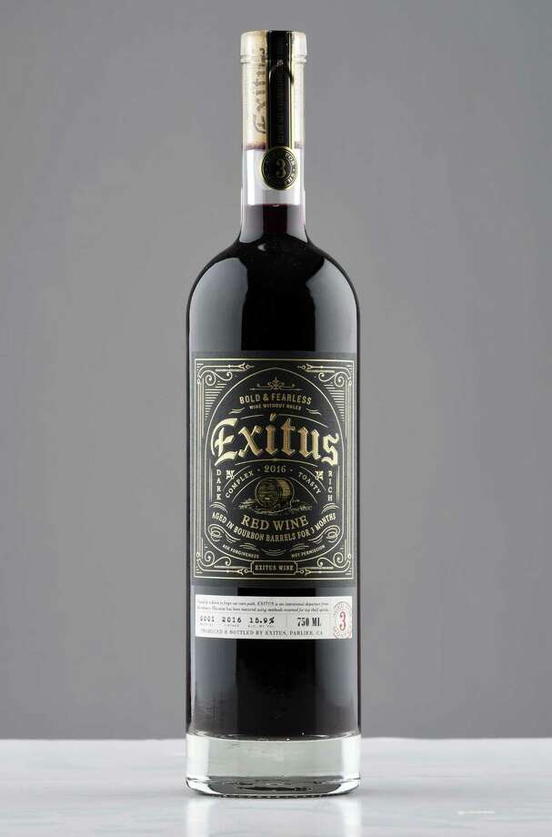 Exitus red blend on Tuesday, Dec. 4, 2018, at the Times Union in Colonie, N.Y.  (Will Waldron/Times Union) Photo: Will Waldron