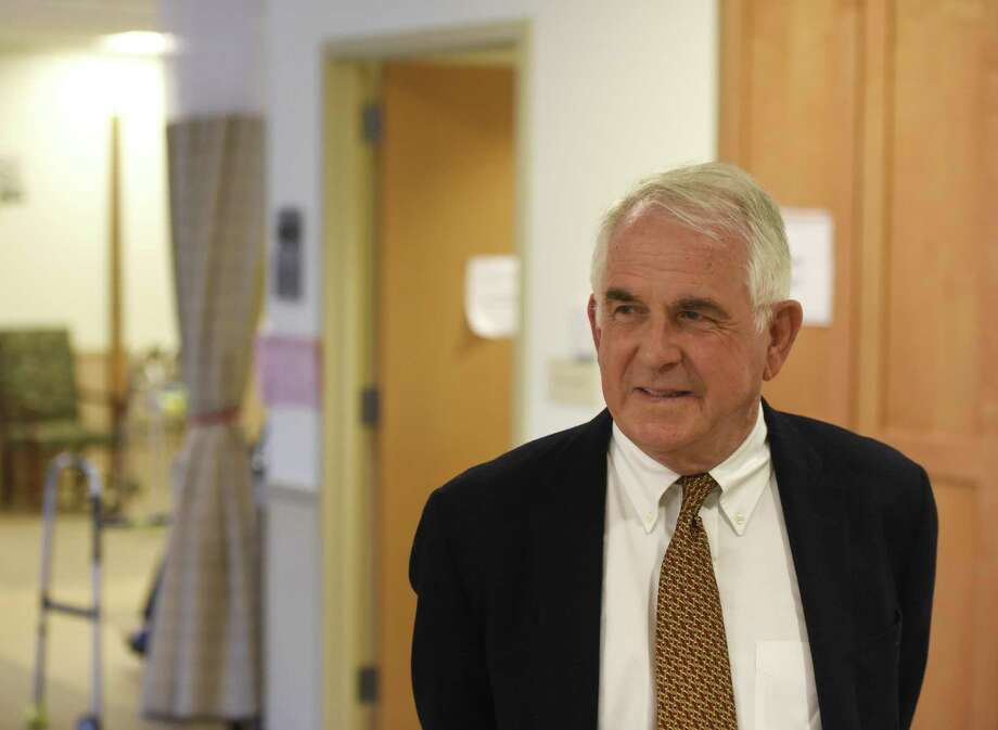 Dr. Francis Walsh walks through the Nathaniel Witherell rehabilitation and nursing center in Greenwich, Conn. Tuesday, May 6, 2016. Photo: File / Hearst Connecticut Media / Greenwich Time