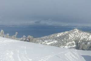 Heavenly Mountain Resort reported receiving less snow than other area resorts. Only 7 inches of snow had fallen between Tuesday and Wednesday.
