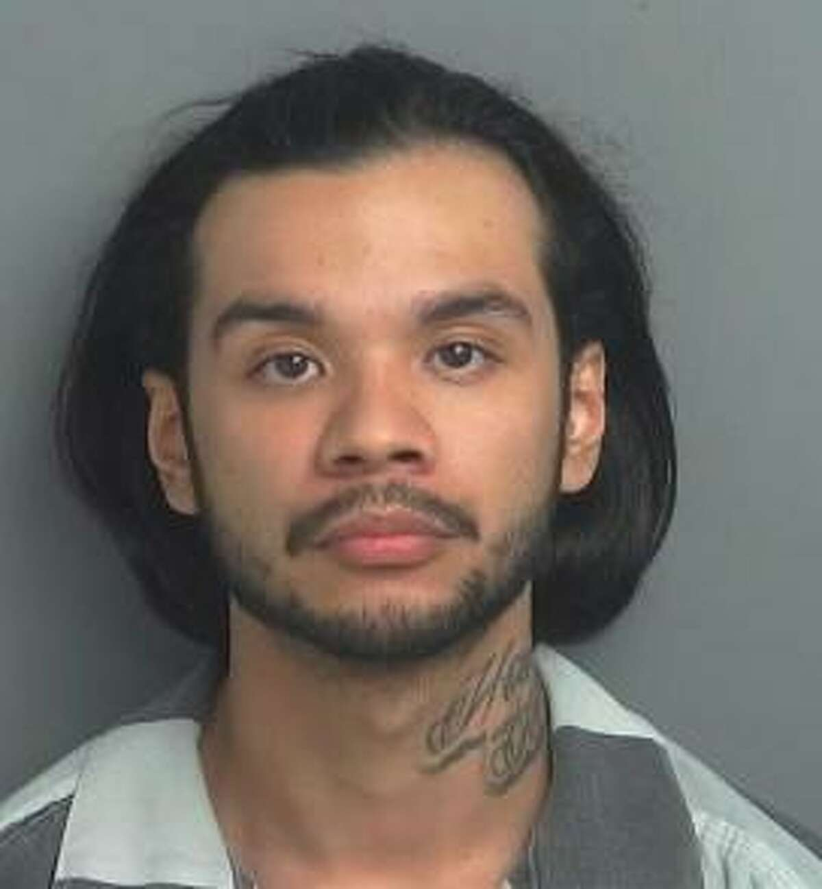 Richard Alex Tamez, 26, of Houston, was arrested Nov. 27 for allegedly soliciting a minor online.