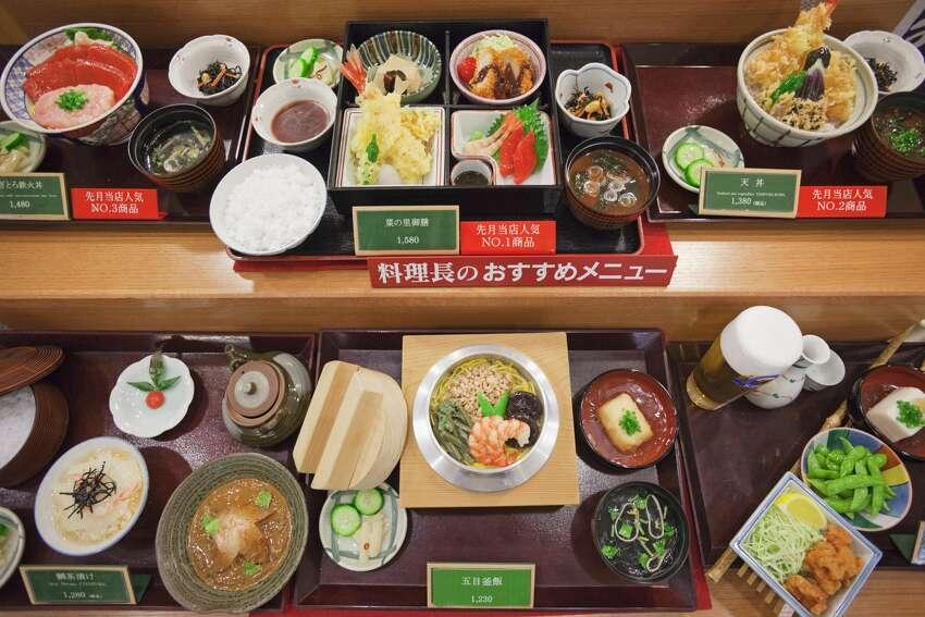 sampuru plastic Japanese food