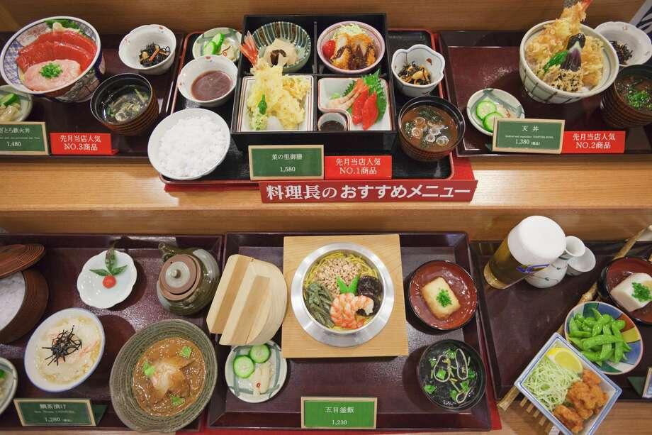 sampuru plastic Japanese food Photo: Steve Vidler/Getty Images/SuperStock RM