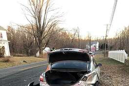 Around 7:10 a.m. on Jan. 16, 2019, the Brookfield Volunteer Fire Company was sent to the intersection of Obtuse Road South and Route 133 in Brookfield, Conn., for a two-car crash with injuries.