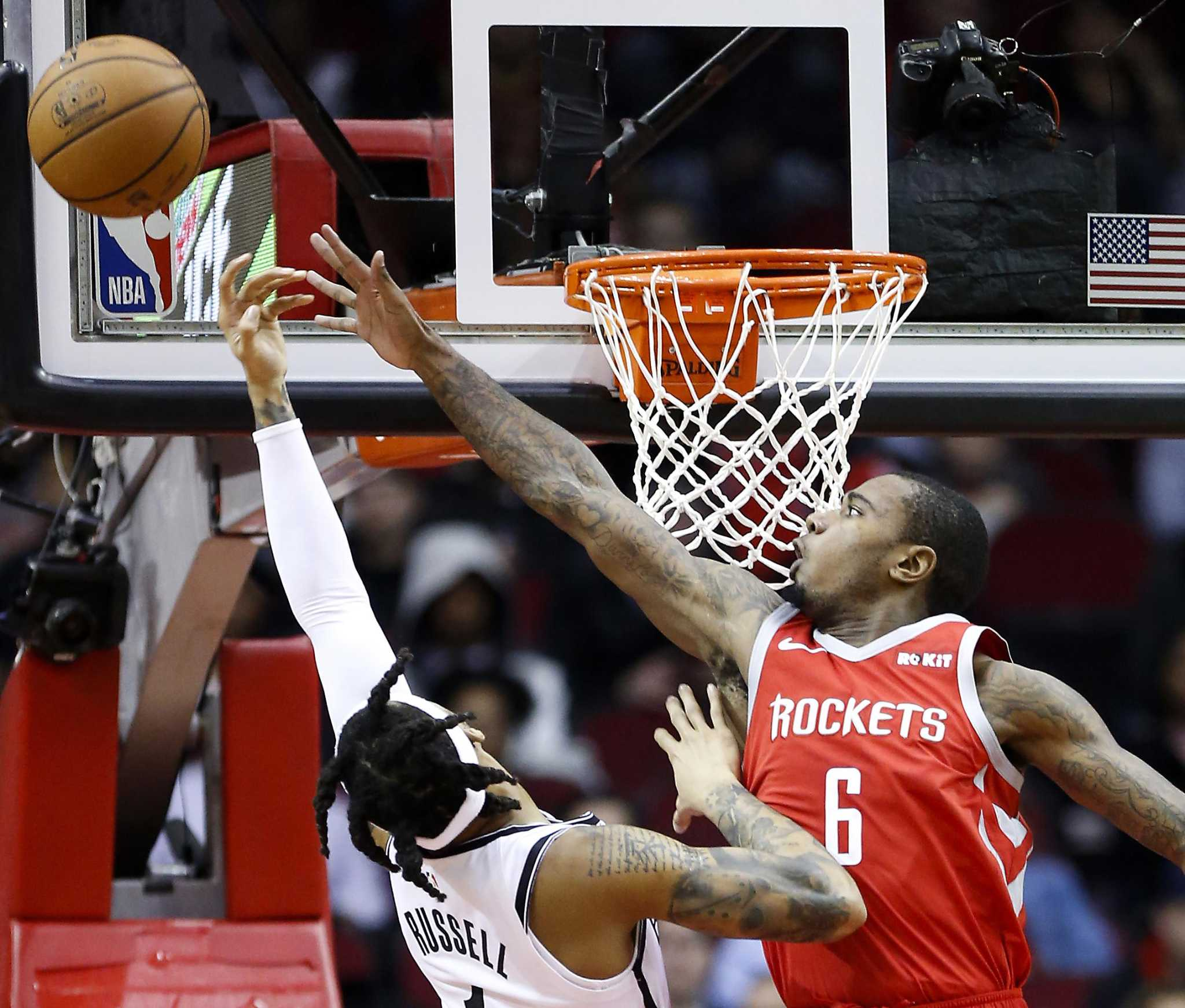 James Harden's 58 points go for naught in OT loss to Nets