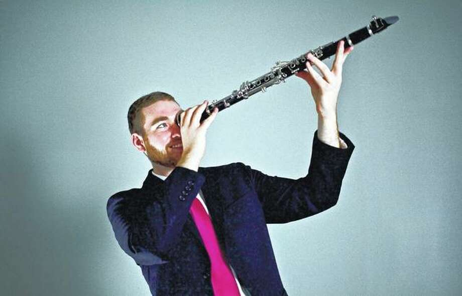 Clarinetist Dan Hickey of Chicago will perform Sunday with pianist Tyler Kivel of Chicago as part of Jacksonville Public Library's Music Under the Dome series. Photo: Photo Provided