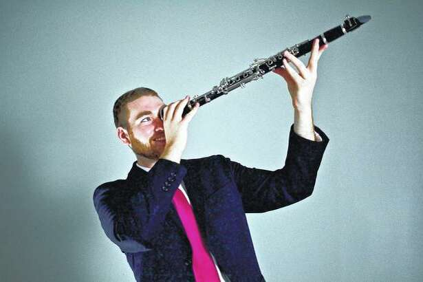 Clarinetist Dan Hickey of Chicago will perform Sunday with pianist Tyler Kivel of Chicago as part of Jacksonville Public Library's Music Under the Dome series.